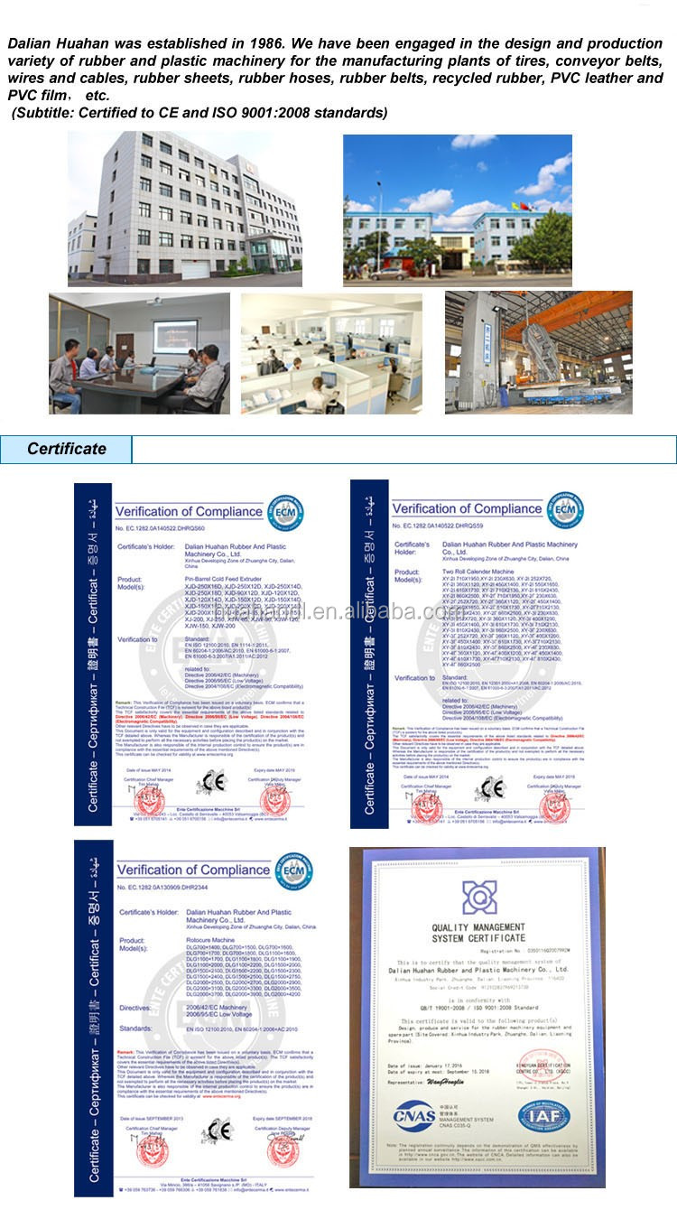 2016 dalian huahan foam sheet rubber two roll calender machine 450 1400 buy two roll