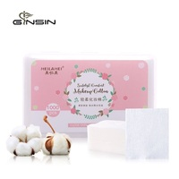 Skin Care Natural Comfortable Safe Facial Soft Cosmetic Make Up Removing Cotton Pads
