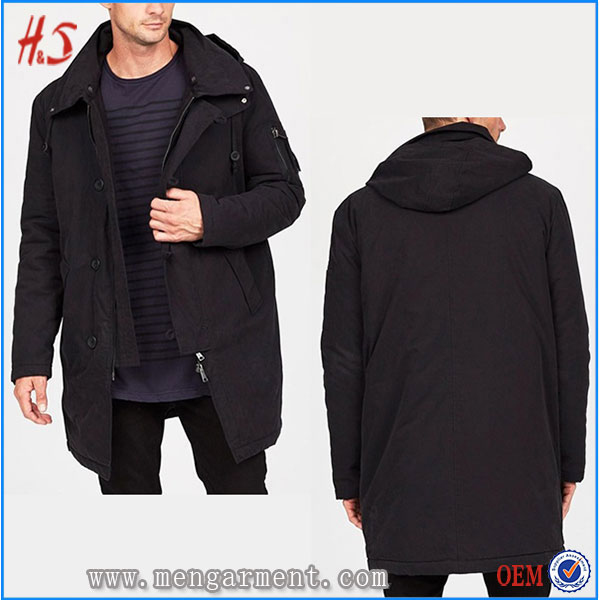 High Quality Jacket From Clothing Factories Casual Outdoor Hooded Jacket For Men