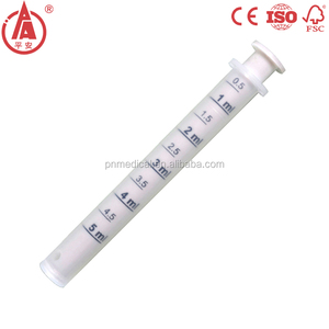 Reuseable 5 ml 8ml oral syringe for baby