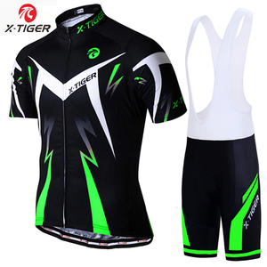 X-TIGER Men Cycling Jersey Spring short Sleeves Cycling Clothing MTB Bike Clothing Breathable cycling wear