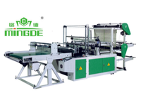 Plastic bag making cold cutting machine for sale