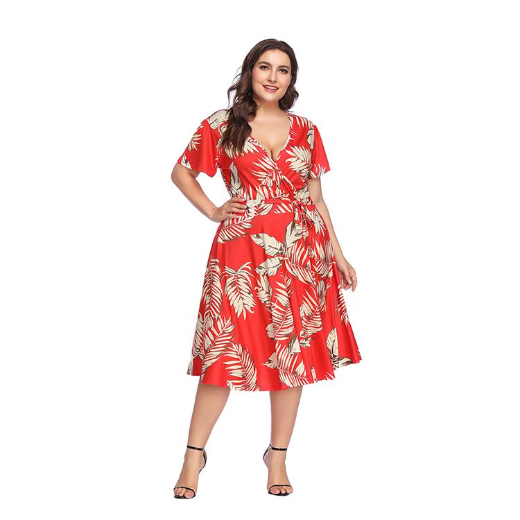3317b2918 2018 de alta calidad de una pieza vestido de fiesta Plus tamaño ropa de las  mujeres