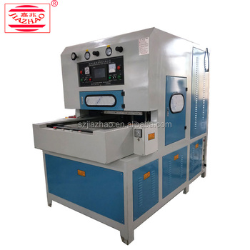 Sports Shoe Insole Pad Upper PU Leather Forming Welding Embossing Stamping Cutting Making Machine