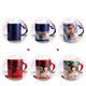magic color changing cups exporter for sublimation customized photo ceramic coffee mug importer