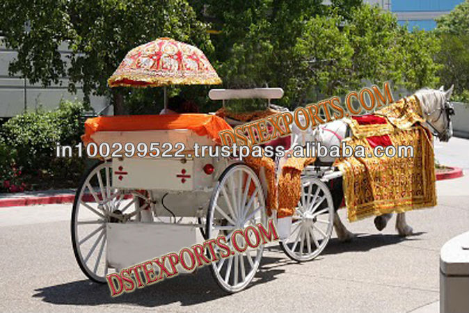 Indian Baraat Horse Decoration Set