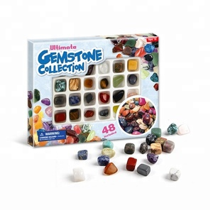 Rock and Mineral Specimen, Geology Education Kit Set for Kids