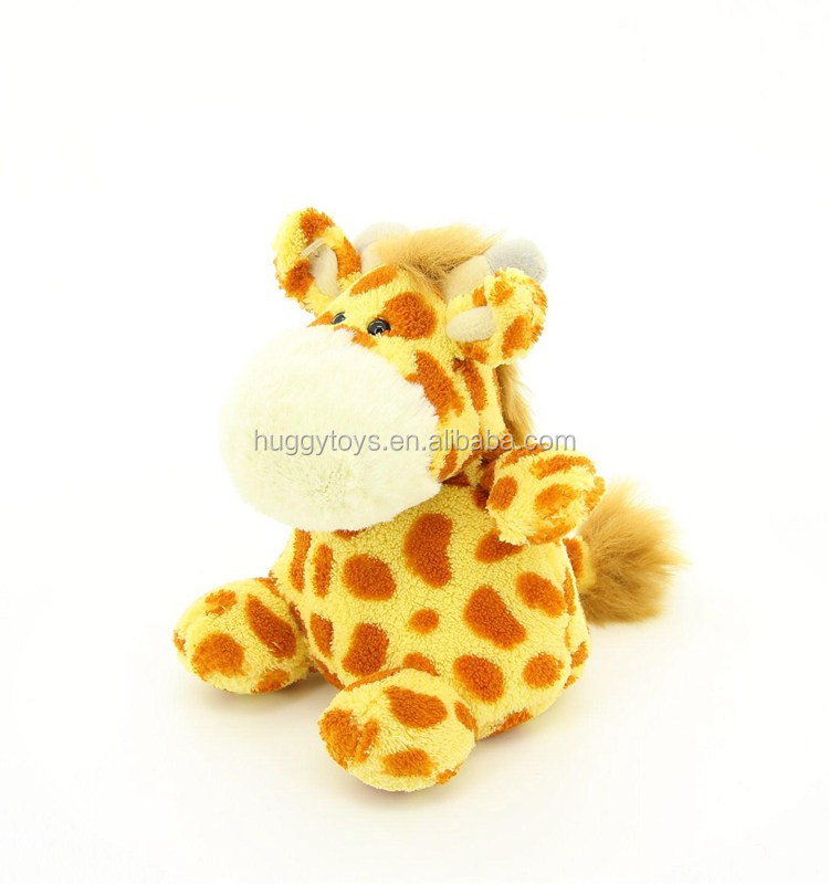 new cuddle plush giraffe toys big stomach baby toys educational