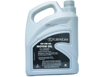 Lexus sm full synthetic 5w 40 engine oil buy lexus sm for Does motor oil expire