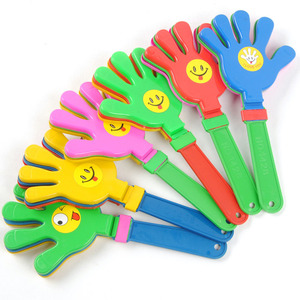 BX001 promotional football game/party/concert sports event Cheering plastic clapper clapping hand toy