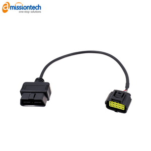 customized OBD2 to DB9, DB15, DB25 extension cable