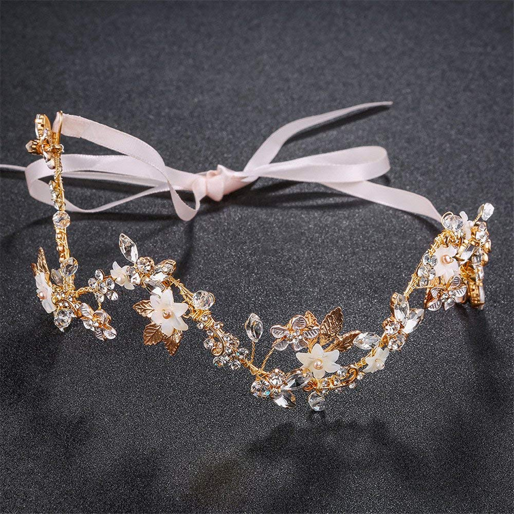 Weddwith Hair Accessories Hair styling accessories creative wave bride hair accessories alloys rhinestones hair accessories hair accessories Europe and America wedding dress accessories