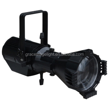 200W COB white color DMX LED Profile Imaging light