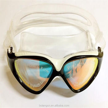 d5141e3a591 Diving equipment mirrored optical swimming glasses Newest anti-fog silicone  swimming goggles with adjustable buckles
