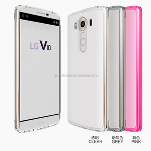 2 in 1 Dual TPU PC Phone Case Cover Protector For LG V10