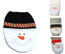 Vánoční potah na wc prkénko – sněhulák