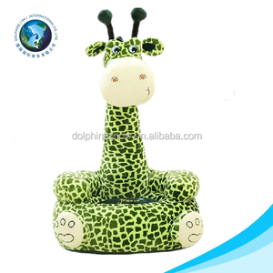 New arrival Soft plush animal giraffe baby sofa chair for Promotional Gift