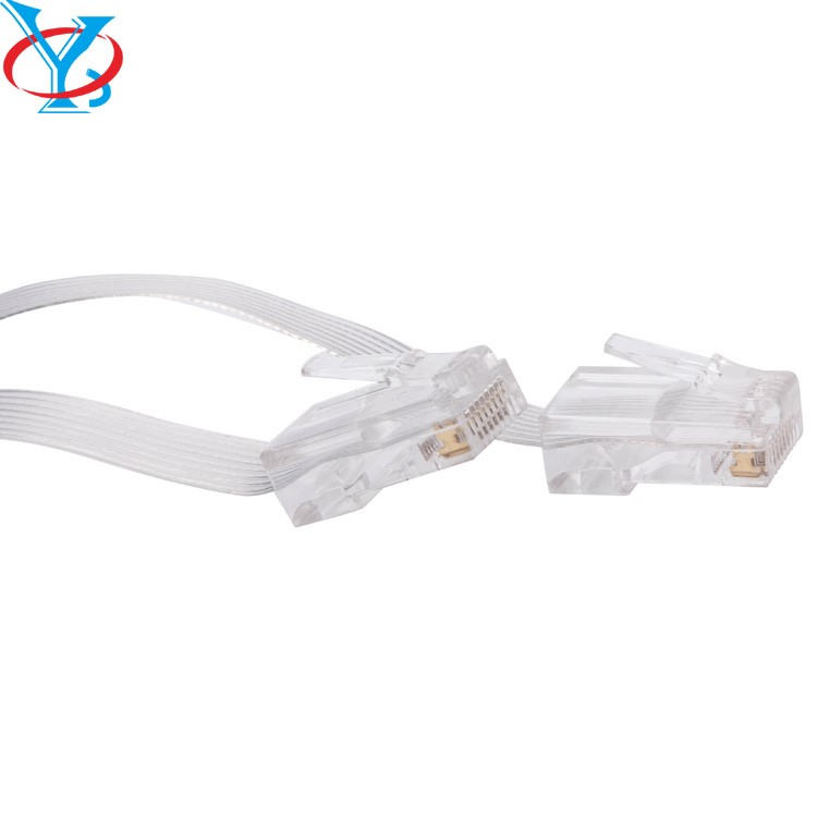 Retractable double side pull RJ45 8p8c net work cable