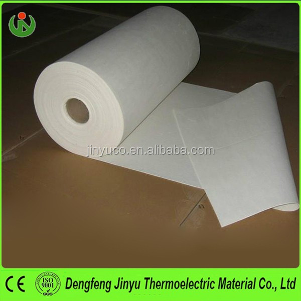 1260 High Temperature Thermal Insulation Ceramic Fiber Paper for Gasket