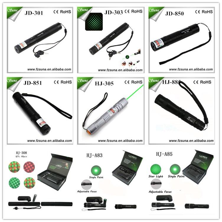 Promotion Green Laser Pen Visible Beam Laser Pointer 303