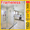 glass block shower enclosure / shower units with seats / manhattan shower enclosures