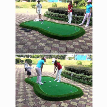 Customized Size Mini Golf Course Putting Green For Indoor/outdoor ...
