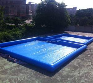 High quality inflatable adult square swimming pool plastic swimming  pools/inflatable above ground swimming pool