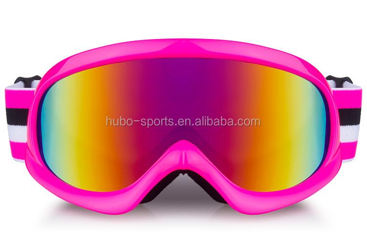 pink ski goggles  2015 New Model Children Size Anti Fog Pink Ski Goggles For Girls ...