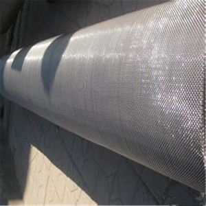 crimped wire belt mesh stainless steel mash