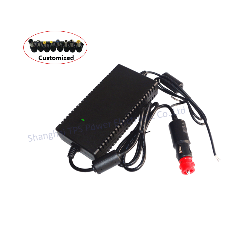 Customized Switching 120W 24V dc car power adapter