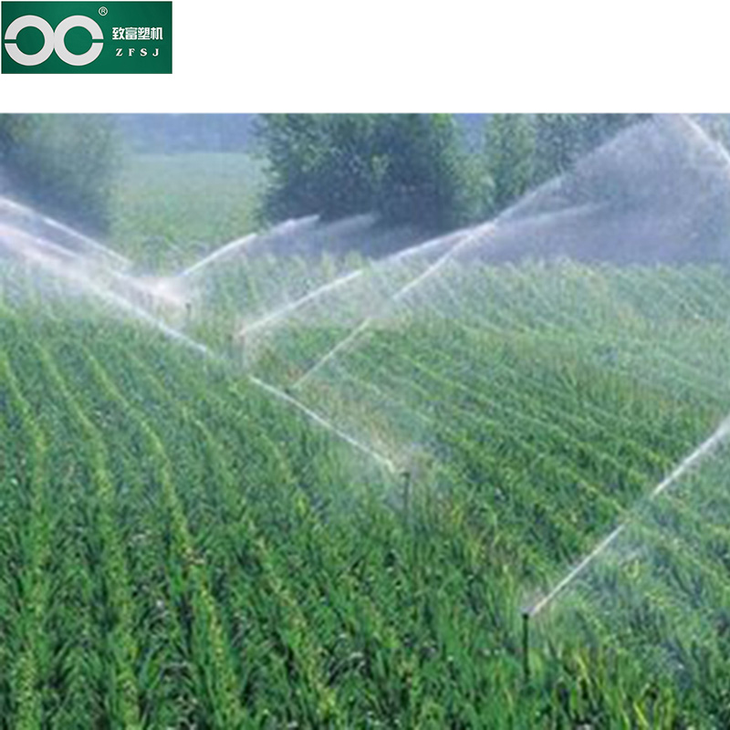 Micro-spray pipes for irrigation systems