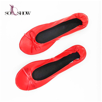 Hot sale ballet shoes cheap brand shoes ballerina