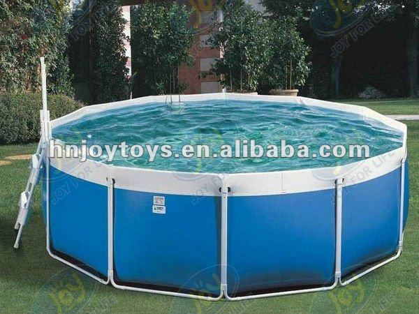 Beautiful Backyard Inflatable Kids Plastic Swimming Pool