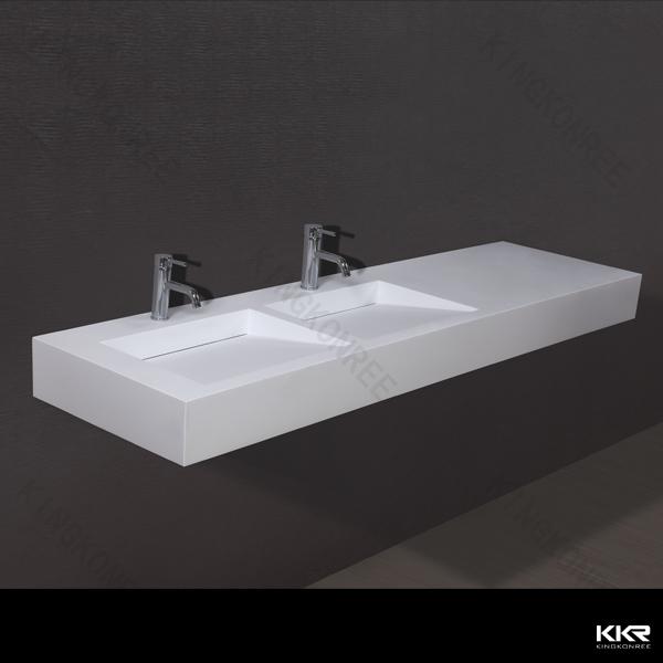 Design badkamer wastafel installeer een dubbele wastafel vanity voor kleine badkamer design - Italiaanse design badkamer ...