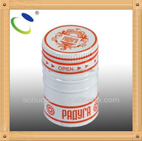 HSC33 different types of aluminum cap for glass bottle