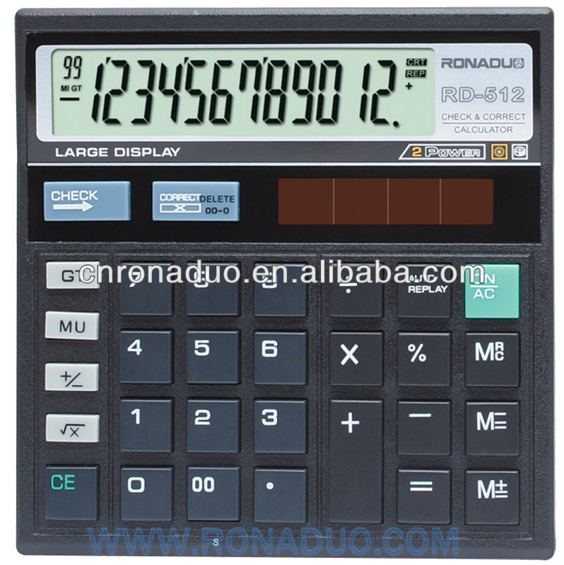 specialized production electronic office calculator CT512