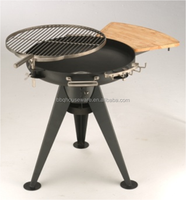 New Stainless Steel Fire Pit BBQ Grill