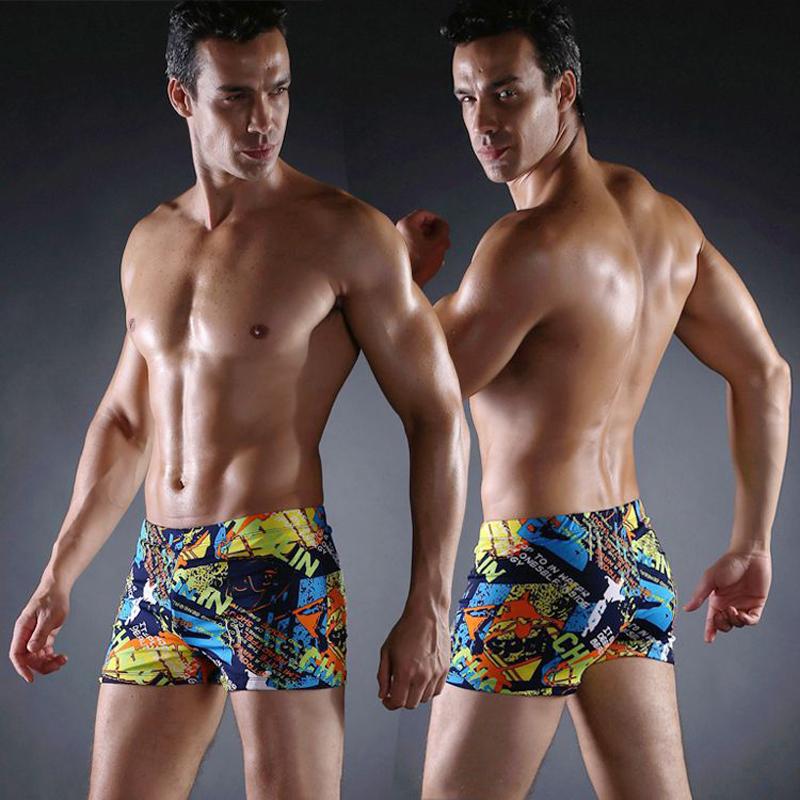 Board Shorts Men Swimwear Shorts Trunks Beach Board Shorts Boxers Short Swimsuits Mens Shorts