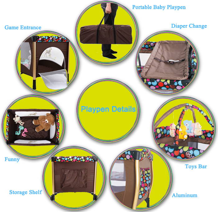 Gold Supplier China Light Weight Portable Baby Swing Bed Baby Crib ...