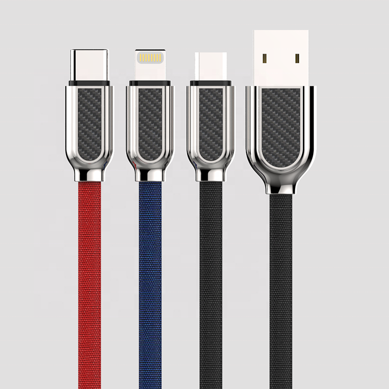 Precio favorable de nylon cable usb para samsung