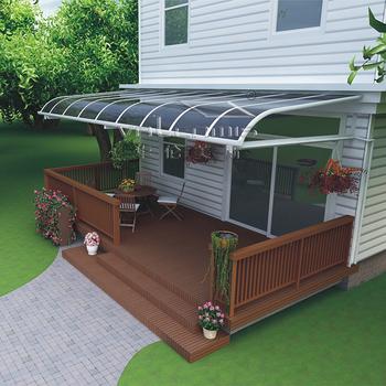 aluminio de alta calidad retráctil toldos canopy con techo de