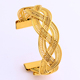 JH Fashion 18K Gold Plated Bangle Middle Esat//African Jewelry For Women Gift