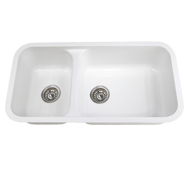 Slate Kitchen Sinks Acrylic Integral Solid Surface Kitchen Sink ...