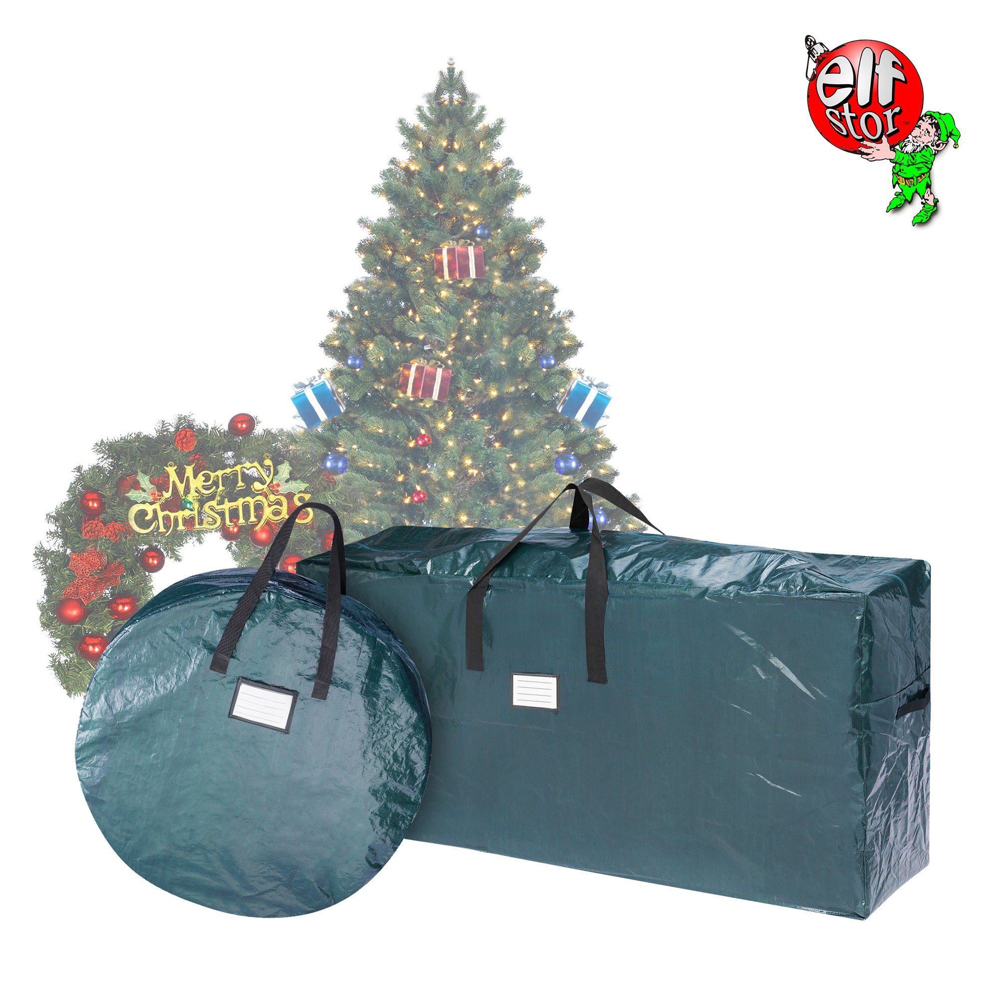 get quotations elf stor 83 dt5522 5076 combo christmas tree storage 30 inch wreath bag - Cheap Christmas Trees Near Me