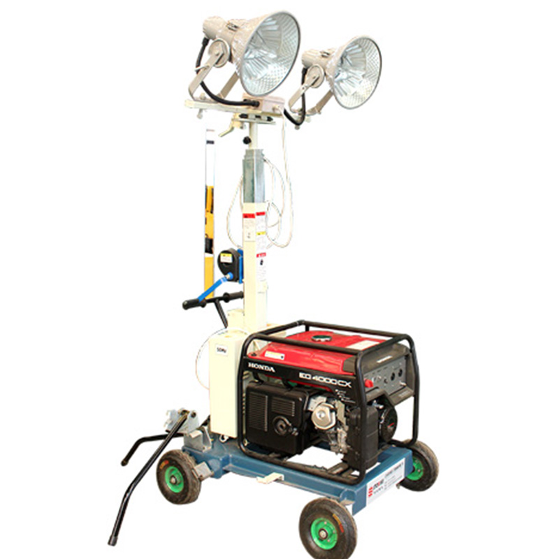 Diesel generator balloon light tower for sale