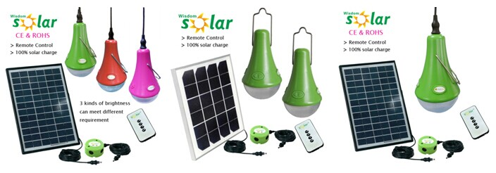 Multi Colored Led Solar Emergency Lights Led Solar Camping Light ...
