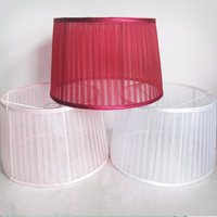 faux silk hanging lamp shades for pendant lamp