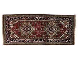 S&H Rugs sh21019 3 x 6 ft. Runner Rust Red Serapi Heriz Oriental Handmade Tribal Design Rug