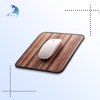 promotional custom wholesale multifuctional gaming concise wooden mouse pad