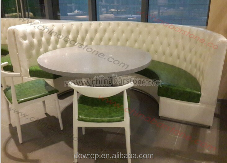 Half Round Restaurant Booth Sofa Curved Design Nice Product On Alibaba